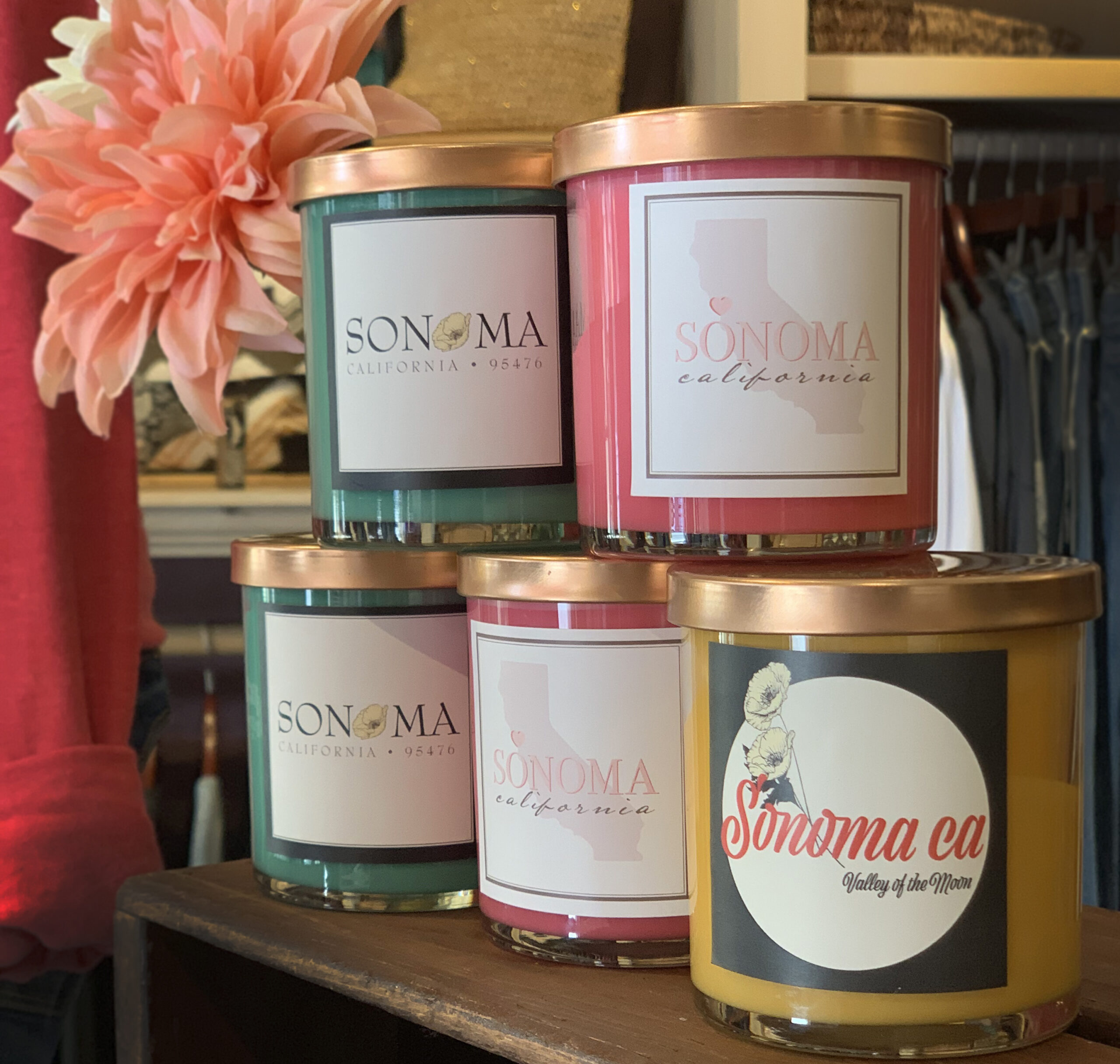Perle Sonoma Candles